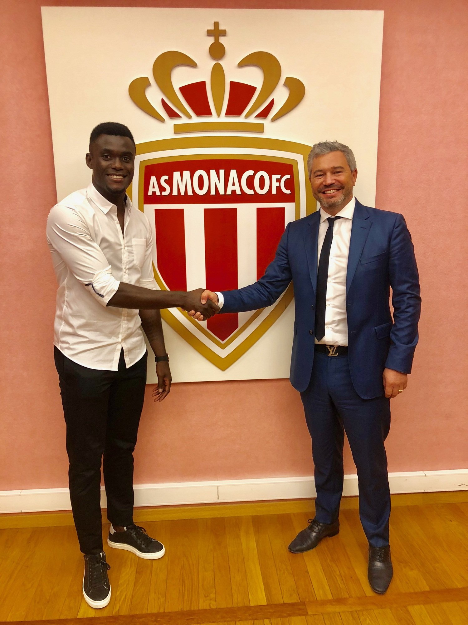 Pelé, reinforcement of AS Monaco, in statements to the US11