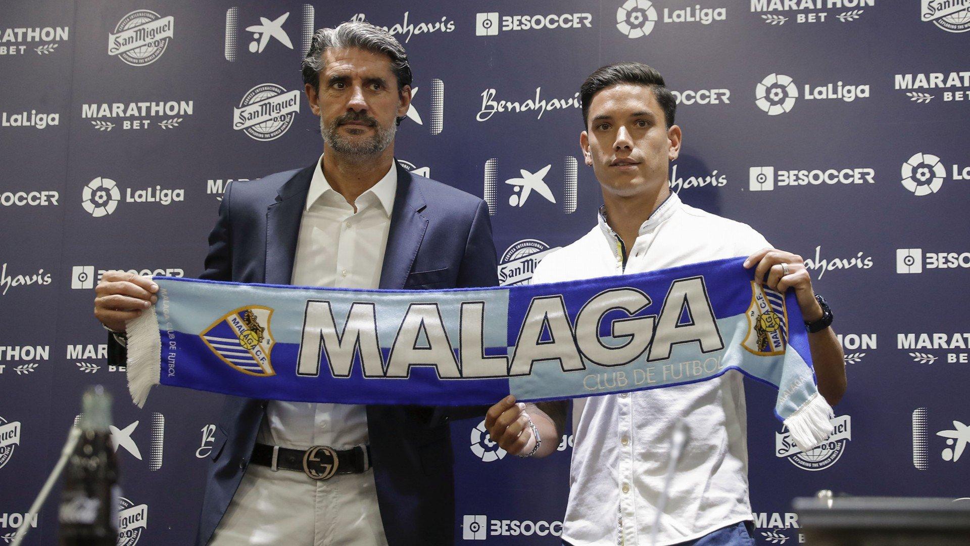 Renato Santos signs for Málaga - declarations