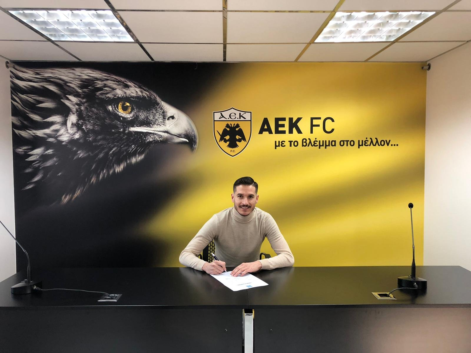 Hélder Lopes renews contract with AEK of Athens until 2022 !!